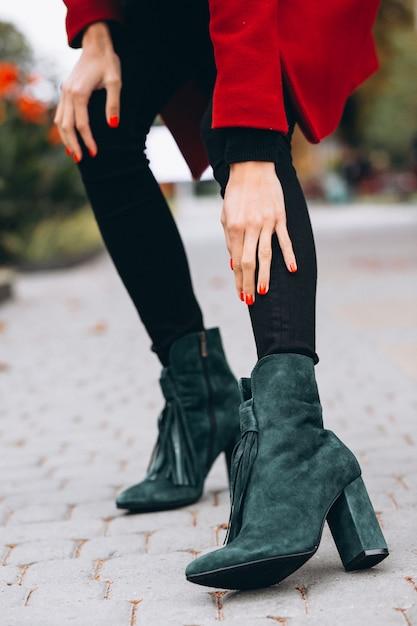 Chaussures femme bouchent Photo gratuit