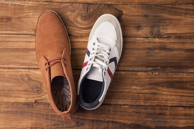 Chaussures homme casual et habillées Photo Premium