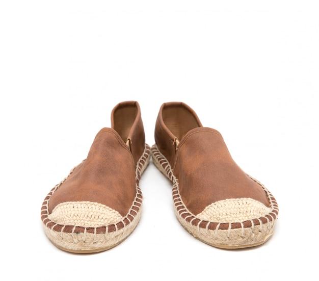 Des Chaussures Marrons Photo Premium