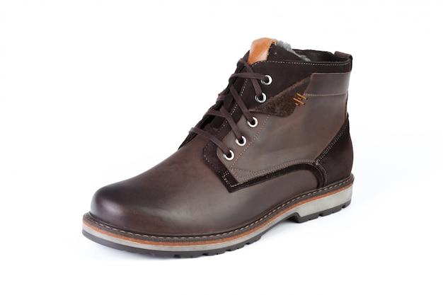 Chaussures à semelle plate isolés sur blanc Photo Premium