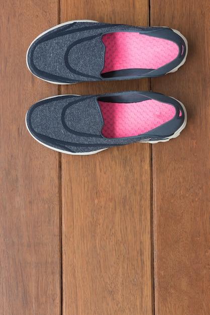 Chaussures de sport décontractées bleues Photo Premium