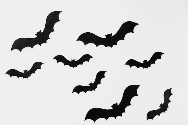 Chauves-souris sombres abstraites pour halloween Photo gratuit