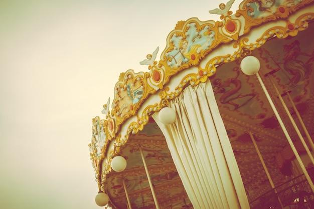 Cheval de carrousel Photo gratuit