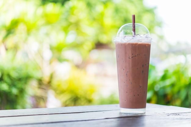 Chocolat glacé Photo gratuit