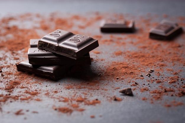 Chocolat morceau Photo gratuit