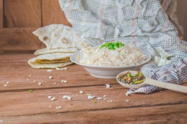 Choucroute sur table Photo Premium