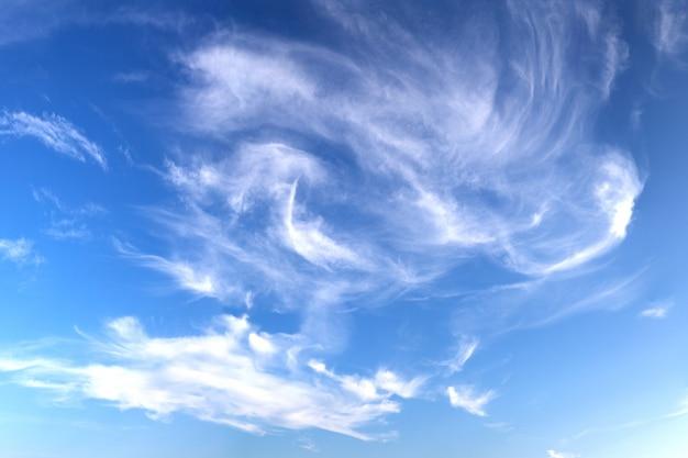 Ciel bleu cloludy Photo gratuit