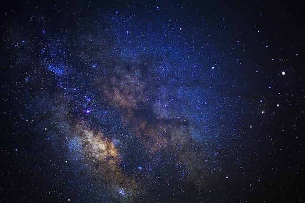 Ciel étoilé et voie lactée Photo Premium