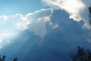 Ciel Nuageux, Lumineux Photo gratuit