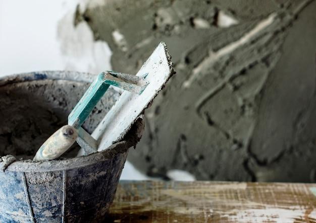 Le ciment de plâtre Photo gratuit