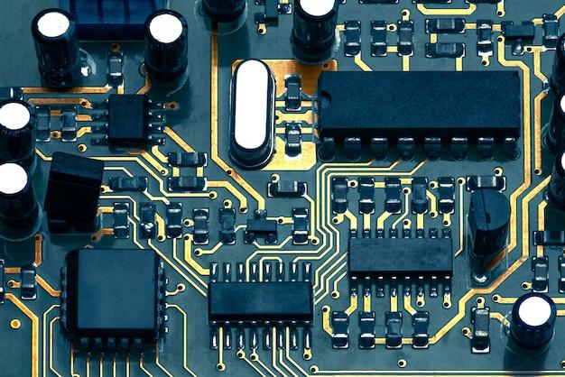 Circuit électronique Photo Premium