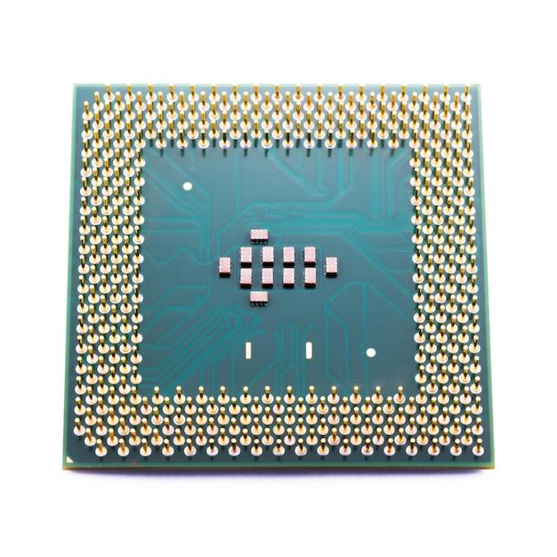 Circuit Imprimé Isolé Photo Premium