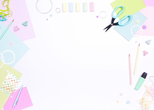 Ciseaux à papier scrapbook Photo Premium