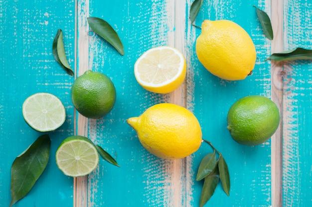 Citrons et limes Photo gratuit