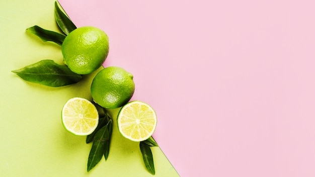 Citrons Verts Photo Premium