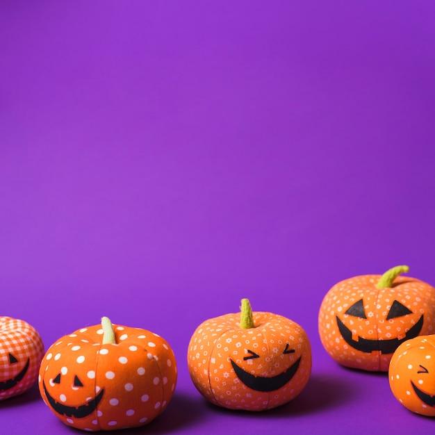 Citrouilles d'halloween Photo gratuit