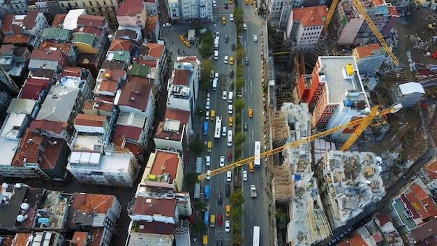 Cityscape Istanbul, Turquie. Photo Vue à Vol D'oiseau Photo gratuit