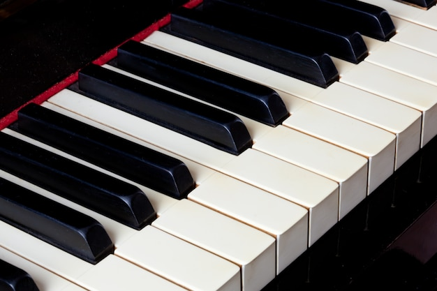Clavier de piano Photo Premium