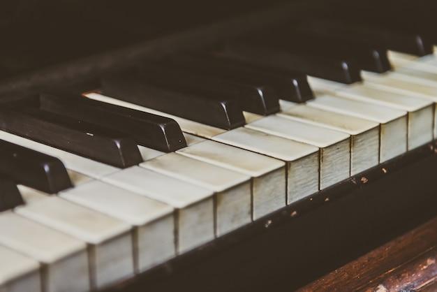 Clé de piano Photo gratuit