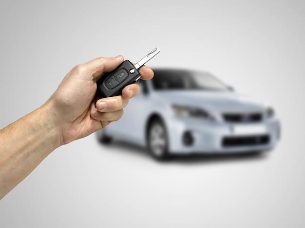 Clés de la voiture Photo Premium