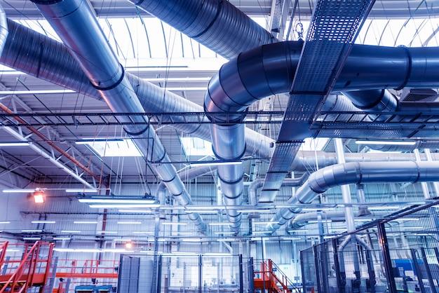 Climatisation Des Bâtiments Photo Premium