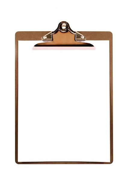 Clipboard plaine Photo gratuit