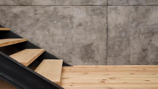 Close-up moderne escalier industriel Photo gratuit