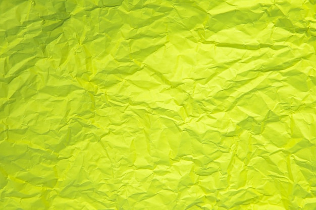 Close Up Of Green Ride Froissé Vieux Avec Papier Page Texture Fond Rugueux. Photo Premium