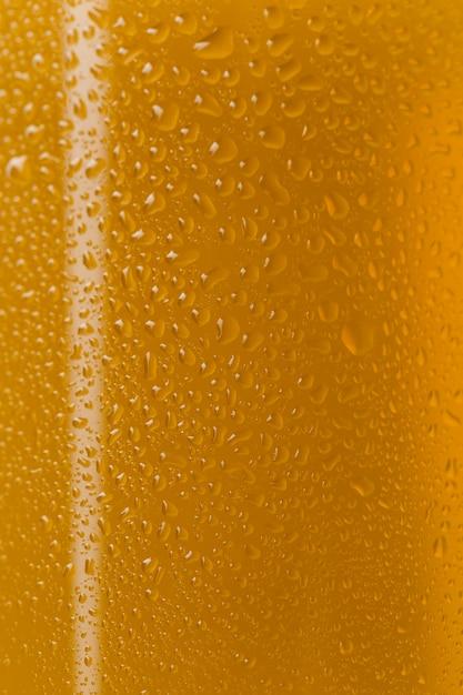 Close-up Savoureuse Bière En Verre Transparent Photo gratuit