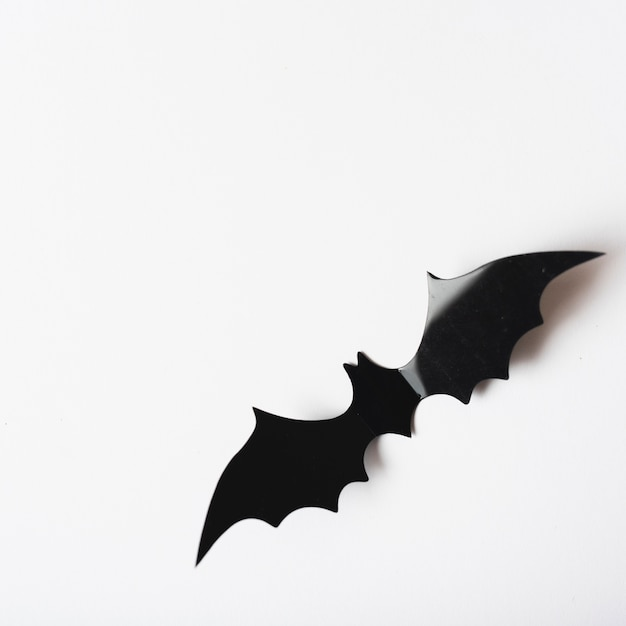 Closeup bat décoration pour halloween Photo gratuit