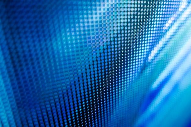 Closeup Led écran Flou. Arrière-plan Flou Led Photo Premium