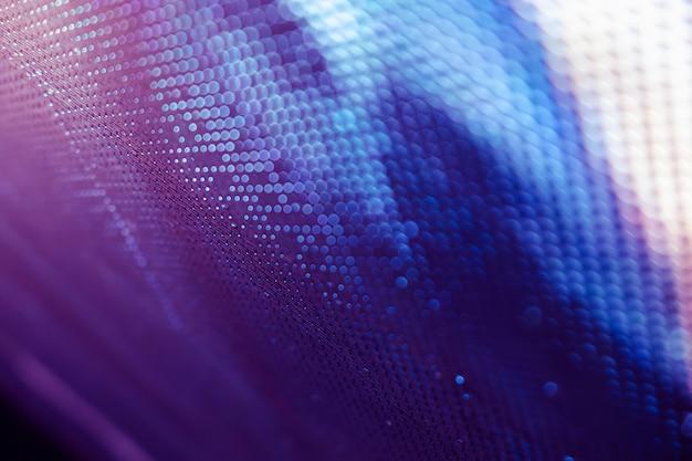 Closeup Led écran Flou. Fond De Flou De Led Photo Premium