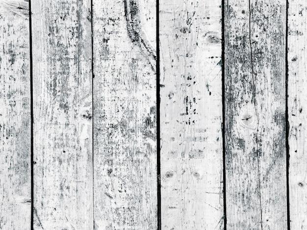 Clôture en bois patiné texturé Photo gratuit