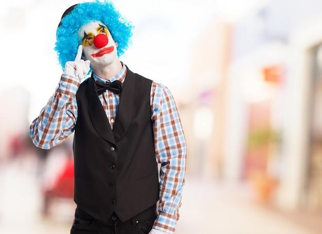 Clown faire pleurer Photo gratuit