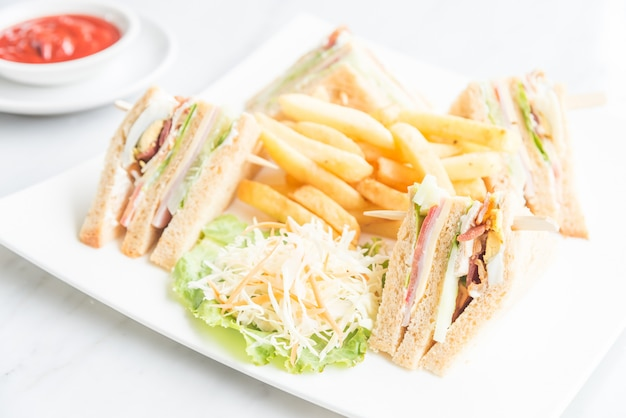 Club sandwiches Photo gratuit