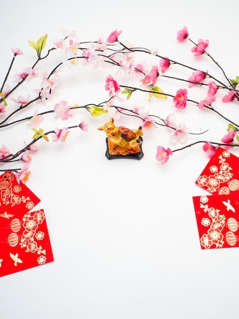 Cochon 2019 nouvel an chinois Photo Premium