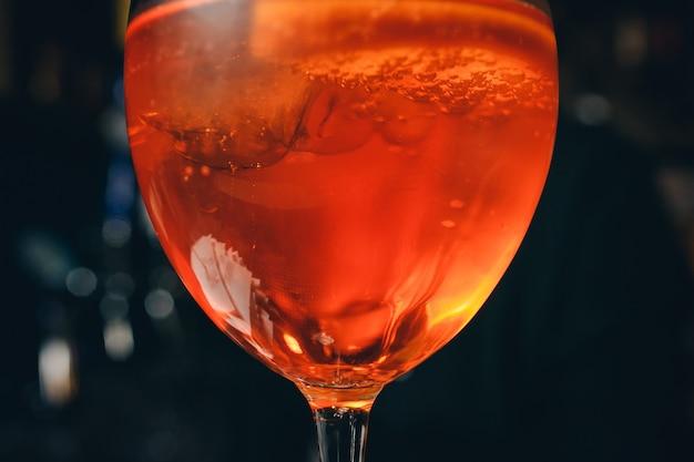 Cocktail Classique Italien Aperol Spritz Photo Premium