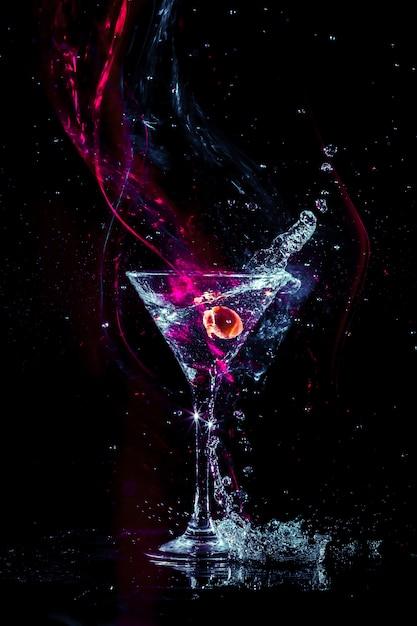 Cocktail Coloré Photo Premium