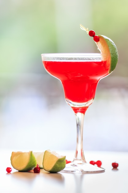 Cocktail cosmopolite Photo Premium