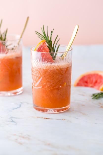Cocktail de pamplemousse Photo Premium