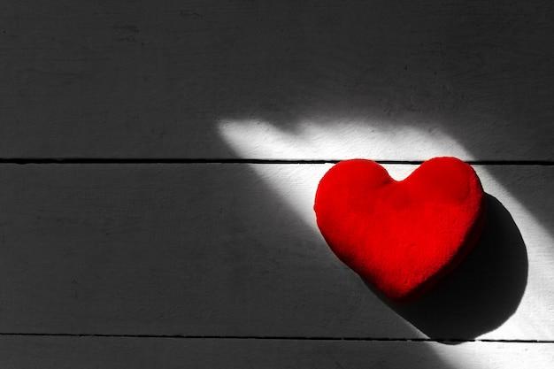 Coeur Rouge Photo Premium