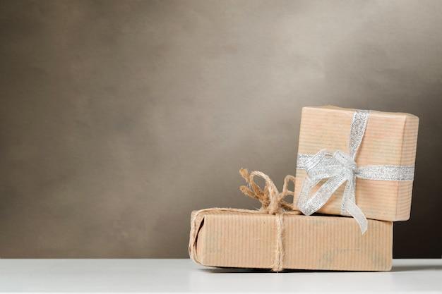 Coffret Cadeau De Noël Photo Premium