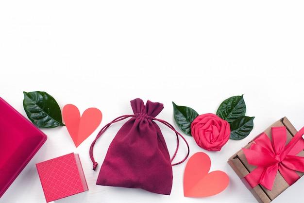 Coffret emballage accessoires cosmétiques Photo Premium