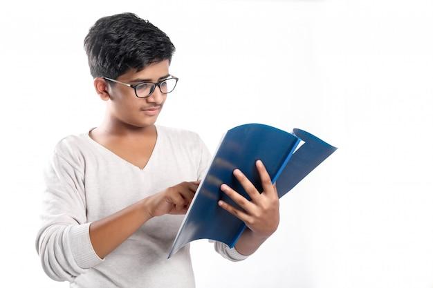Collage indien en étude Photo Premium