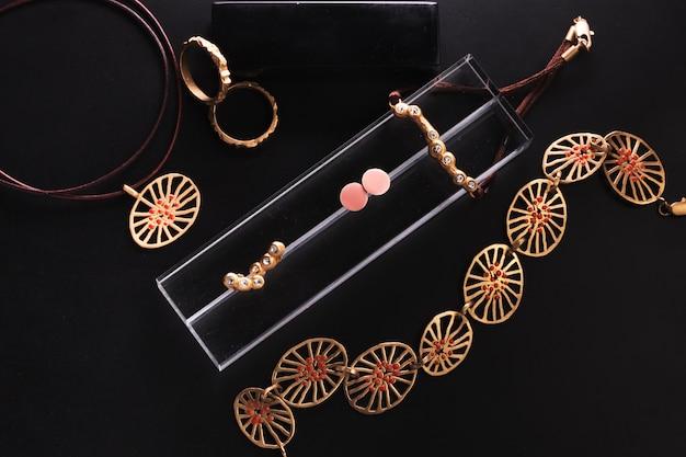 Collection de bijoux Photo Premium
