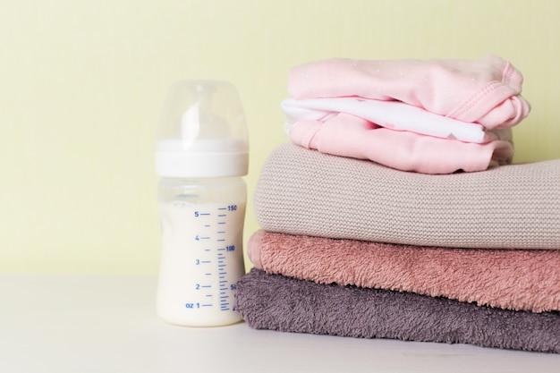Collection d'objets pour bébés Photo Premium