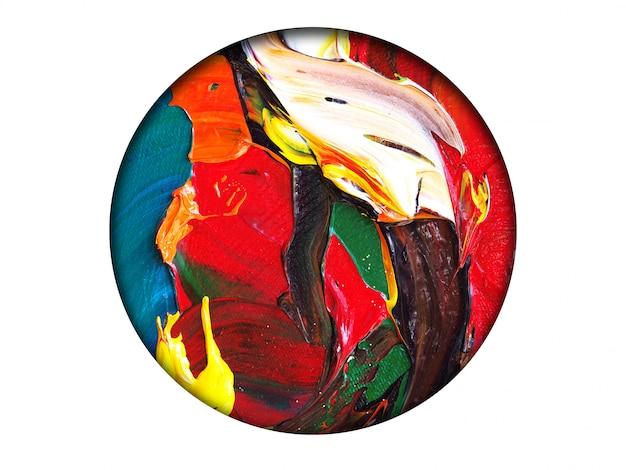 Coloré de couleur abstrait. Photo Premium