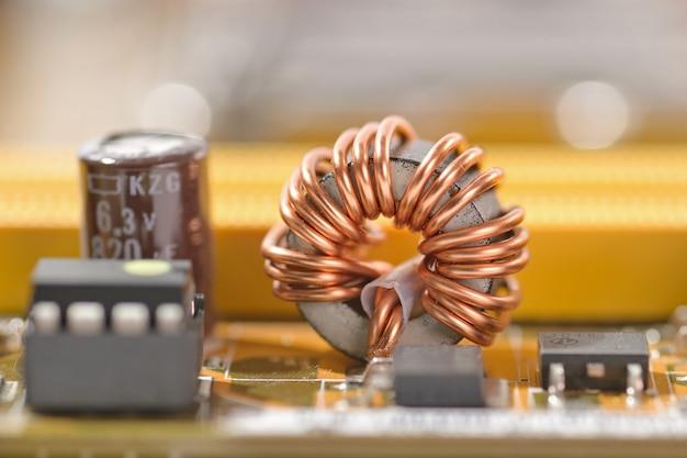 Composant de la bobine Photo Premium