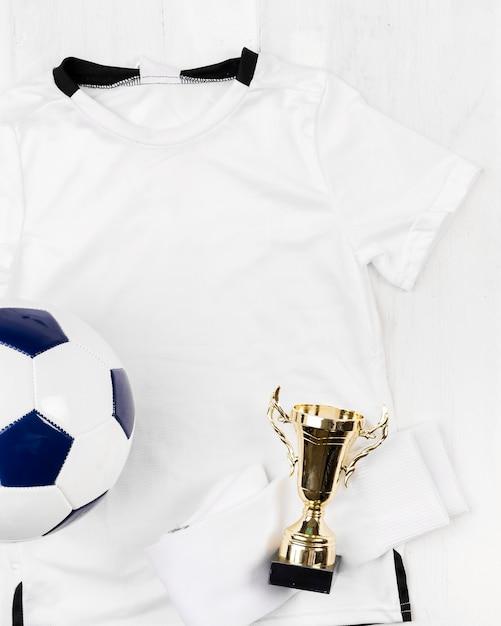Composition de football Photo gratuit