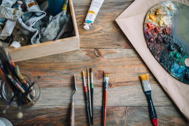 Composition de peinture Photo gratuit
